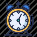 alarm, clock, morning, time