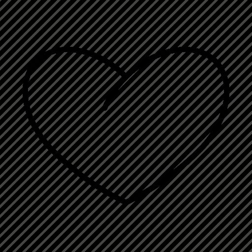 cardio, favorite, health, heart, like, love, medical icon