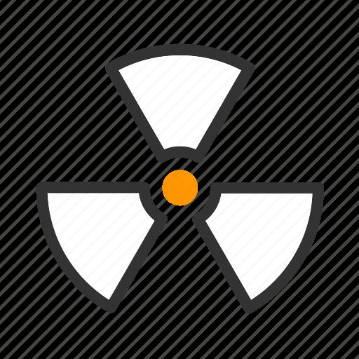 active, care, health, medical, nuclear, radio, radio active icon
