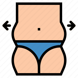 anatomy, body, fat, medical, parts icon