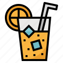 drink, juice, orange, vegetarian icon