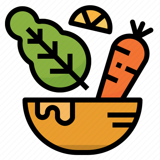 healthy, organic, salad, vegan, vegetables, vegetarian icon