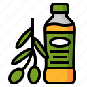 food, healthy, ingredient, oil, olive, olive oil icon