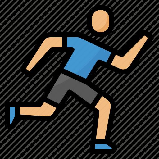 fast, human, race, run, running, sports icon