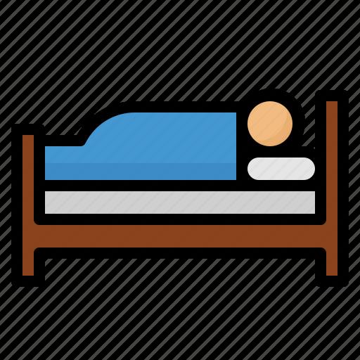 benefits, health, hotel, sleep icon