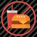 burger, fat, food, junk food, soda