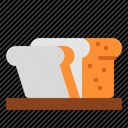bakery, bread, healthy, whole grain icon