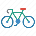 bicycle, bike, cycling, sports, vehicle icon