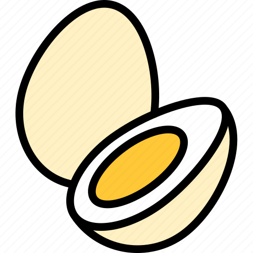 egg, eggs, food icon