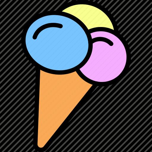 food, icecream icon