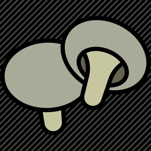 food, mushroom icon