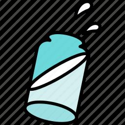 bottle, milk, water icon