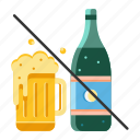 addiction, alcohol, alcoholic, beverage, habit, healthy life, no