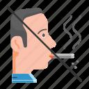 cigarette, healthy life, no, quit, smoke, smoking, unhealthy