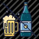 addiction, alcohol, alcoholic, beverage, habit, healthy life, no icon