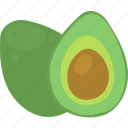 avocado, diet, healthy eating, healthy food icon