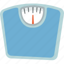 exercise, scale, weight, weight loss icon