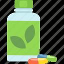 diet, healthy, supplements, vitamins icon