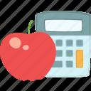 apple, calorie calculator, nutrition, healthy