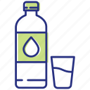 bottle, drink, healthy lifestyle, water icon