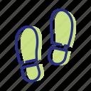 footprints, sport, walk daily, walking