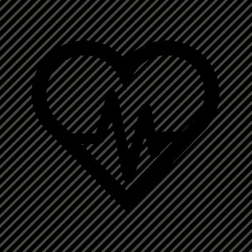 beat, heart, pulse icon