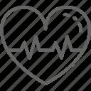 attack, ekg, healthy, heart, heartbeat, medical, rhythm