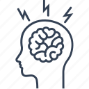attack, brain, diseases, heart, medicine icon