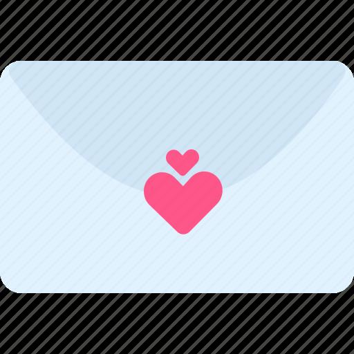 Heart, love, love letter, mail, valentine, valentine's, valentine's day icon - Download on Iconfinder