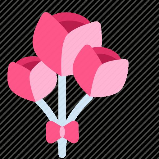 Flower, flowers, heart, love, valentine, valentine's, valentine's day icon - Download on Iconfinder
