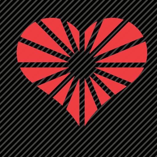 heart, love, romance icon