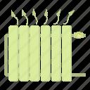battery, cartoon, heating, iron, metal, pipe, pipeline icon