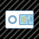 control, controller, regulation, regulator, temperature, thermostat icon
