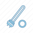 boiler, electric, heater, heater element, heating, water, water heating icon