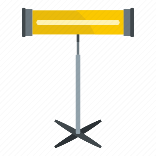 appliance, electric, electricity, halogen, heat, heater, infrared icon