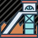 coal, equipment, excavator, fuel, mineral, mining, underground