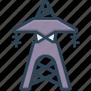 transmission, tower, radio, antenna, wireless, technology, wifi icon