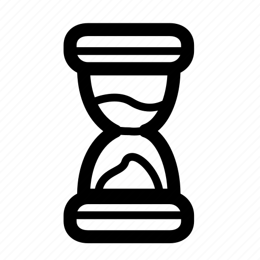 egg timer, game, game over, gaming, line, time, timer icon