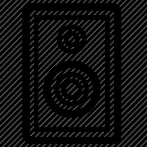 audio, line, music, speaker icon