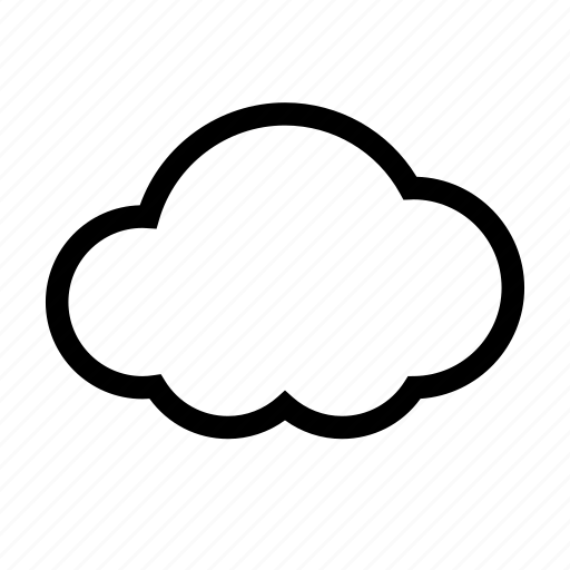 cloud, cloudy, gray, grey, overcast, upload icon