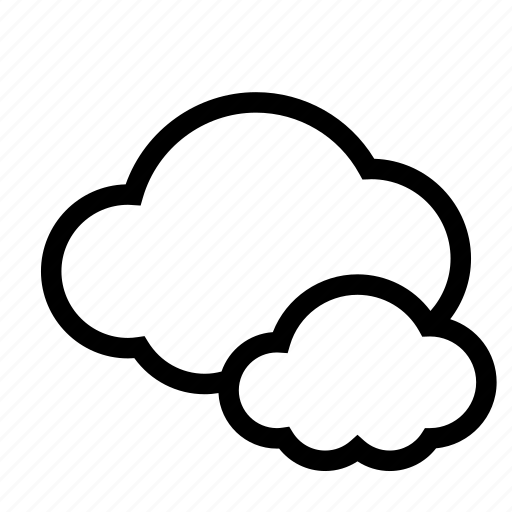 cloud, clouds, cloudy, low pressure, overcast icon