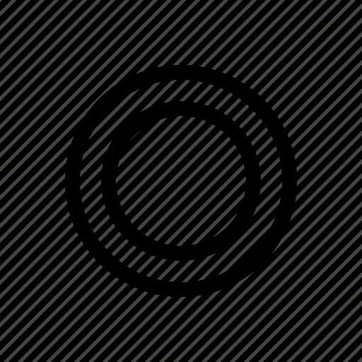 circle, circular, day, heat, round, summer, sun icon