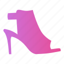 fashion, footwear, heels, sandal, sandals, shoes, stiletto icon