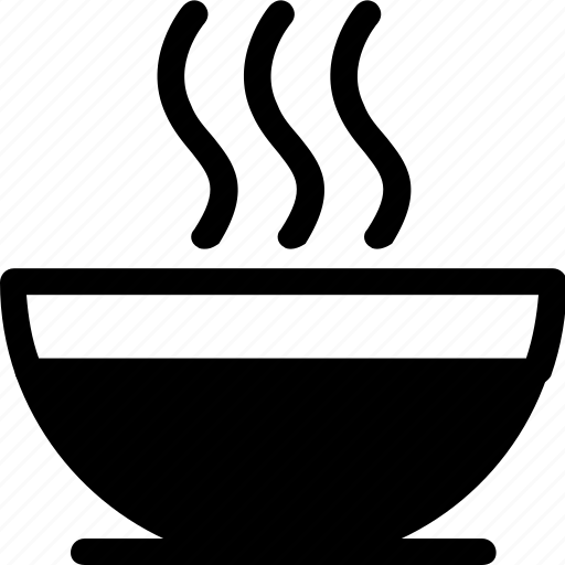 bowl, eat, food, hot, ingredients, restaurant, soup icon