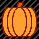 halloween, orange, pumpkin icon