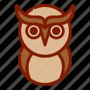 cute owl, halloween, owl icon