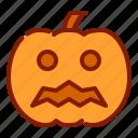 face, halloween, pumpkin icon