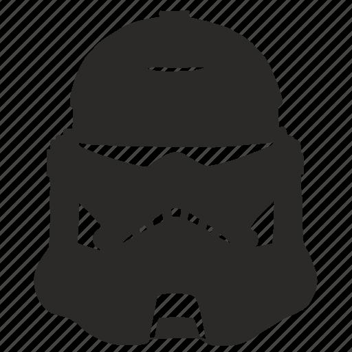 darkness, helmet, knight, star, wars icon
