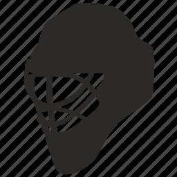 game, goalie, helmet, hockey, mask, safety icon