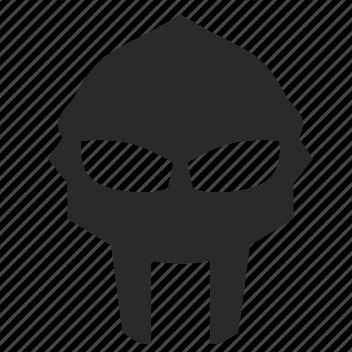 gladiator, helmet, mask, soldier icon